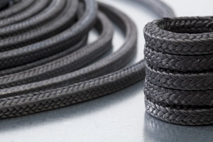 Graphite braided packing / high-temperature